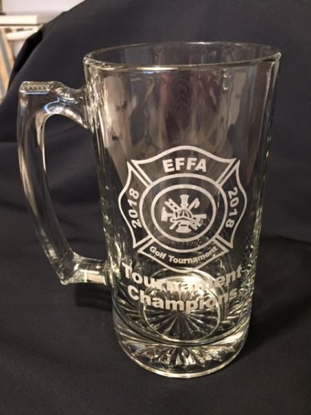 custom laser engraved beer mug
