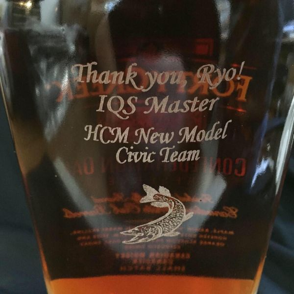 HCM glass award